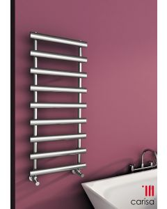 Carisa Aldo Chrome Designer Heated Towel Rail