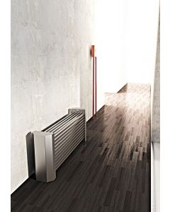 Carisa April Brushed Stainless Steel Horizontal Designer Radiator 500mm x 1200mm