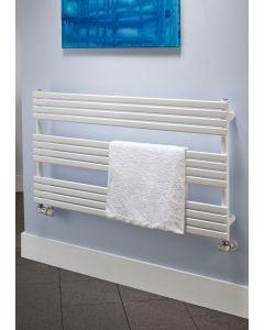 TRC BDO Camino Steel White Designer Heated Towel Rail