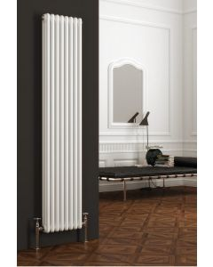 Reina Colona Steel White Vertical Column Radiator