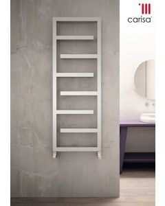Carisa Eclipse Stainless Steel Designer Heated Towel Rail