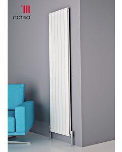 Carisa Elite Aluminium White Vertical Designer Radiator