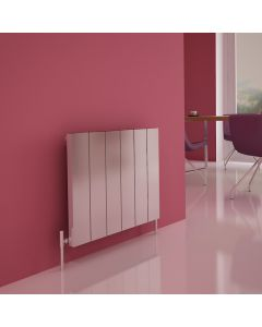 Carisa Elvino Polished Aluminium Custom Painted Horizontal Designer Radiator