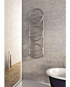 Carisa Environ Brushed Stainless Steel Designer Heated Towel Rail