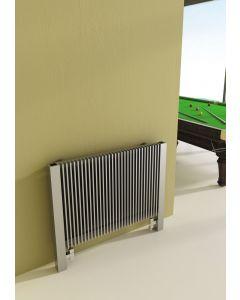 Carisa Futura Brushed Stainless Steel Horizontal Designer Radiator