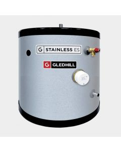 Gledhill 90 Litre Stainless ES Direct Unvented Cylinder