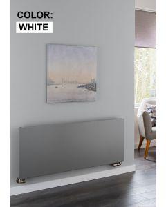 TRC Ice Steel White Custom Painted Horizontal Designer Radiator