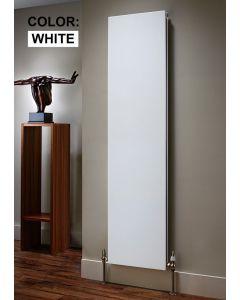 TRC Ice Steel White Custom Painted Vertical Designer Radiator