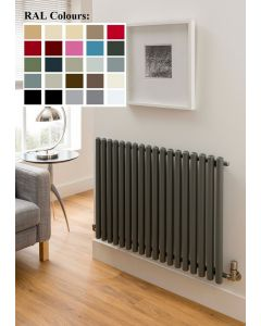 TRC Inferno Steel Custom Painted Horizontal Designer Radiator
