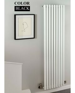 TRC Inferno Steel Black Vertical Designer Radiator