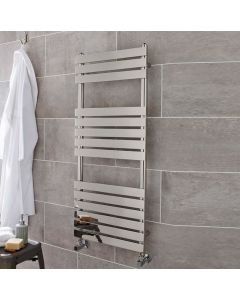 Kartell Memphis Steel Chrome Designer Heated Towel Rail