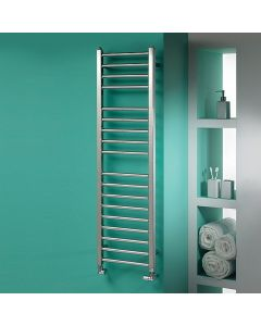 Kartell Metro Stainless Steel Designer Heated Towel Rail