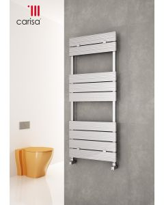 Carisa Monaza Bath Aluminium Designer Heated Towel Rail