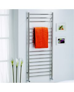 Kartell Orlando Straight Stainless Steel Designer Heated Towel Rail