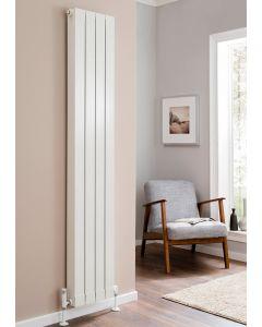 TRC Oscar Aluminium White Custom Painted Vertical Designer Radiator