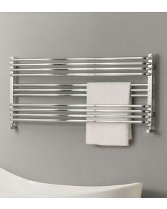 TRC BDO Poll Steel Chrome Designer Heated Towel Rail