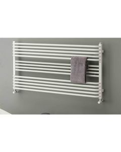 TRC BDO Poll Steel White Designer Heated Towel Rail