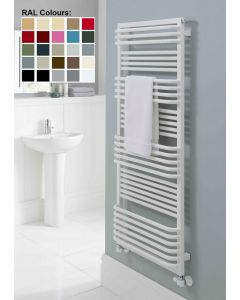 TRC Poll Steel Custom Painted Designer Heated Towel Rail