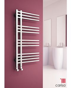 Carisa Primus Chrome Designer Heated Towel Rail