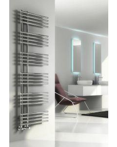 Reina Elisa Steel Chrome Designer Heated Towel Rail