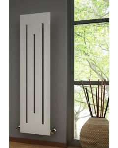 Reina Line Steel Anthracite Vertical Designer Radiator 1800mm x 490mm
