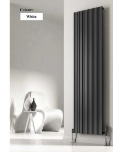 Reina Raile Steel White Vertical Designer Radiator