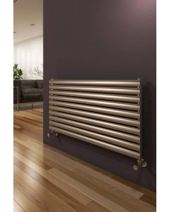 Reina Artena Stainless Steel Brushed Horizontal Designer Radiator
