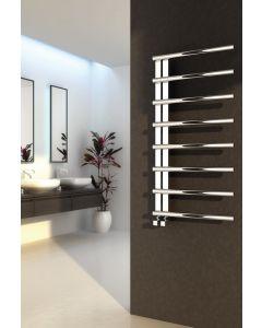 Reina Celico Polished Stainless Steel Designer Heated Towel Rail