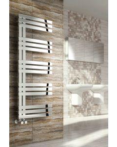 Reina Lovere Polished Stainless Steel Designer Heated Towel Rail