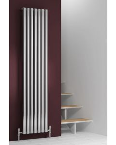 Reina Nerox Stainless Steel Polished Vertical Designer Radiator