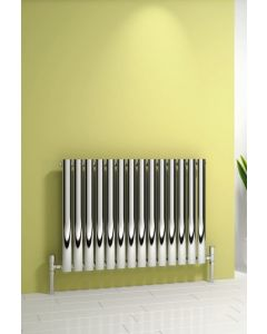 Reina Nerox Stainless Steel Polished Horizontal Designer Radiator