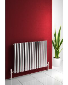 Reina Nerox Stainless Steel Brushed Horizontal Designer Radiator