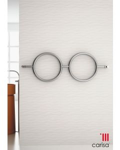 Carisa Roni Stainless Steel Designer Heated Towel Rail