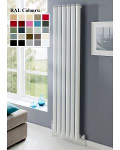 TRC Seta Groove Steel Custom Painted Vertical Designer Radiator