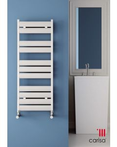 Carisa Soho Aluminium Designer Heated Towel Rail