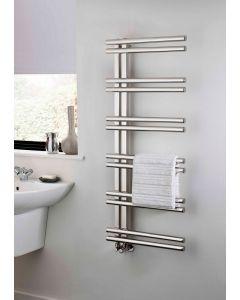 TRC Stratos Polished Stainless Steel Designer Heated Towel Rail
