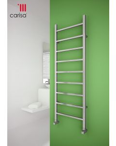 Carisa Thor Chrome Designer Heated Towel Rail