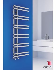Carisa Tanya Chrome Designer Heated Towel Rail