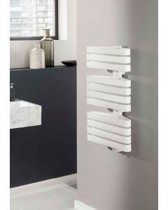 TRC Triarc Steel White Designer Heated Towel Rail