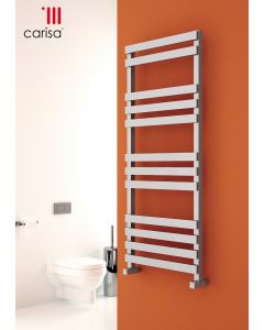 Carisa Valencia Chrome Designer Heated Towel Rail