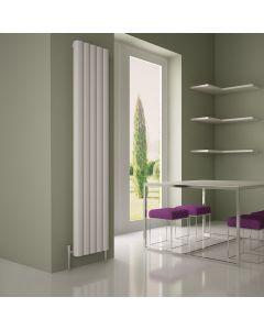 Carisa Vesta Aluminium White Vertical Designer Radiator