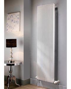 TRC Vivid Steel White Custom Painted Vertical Designer Radiator