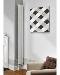 TRC Water Lily Steel White Custom Painted Vertical Designer Radiator